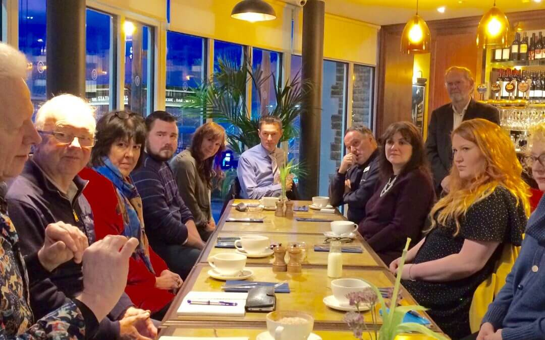 table at breakfast club
