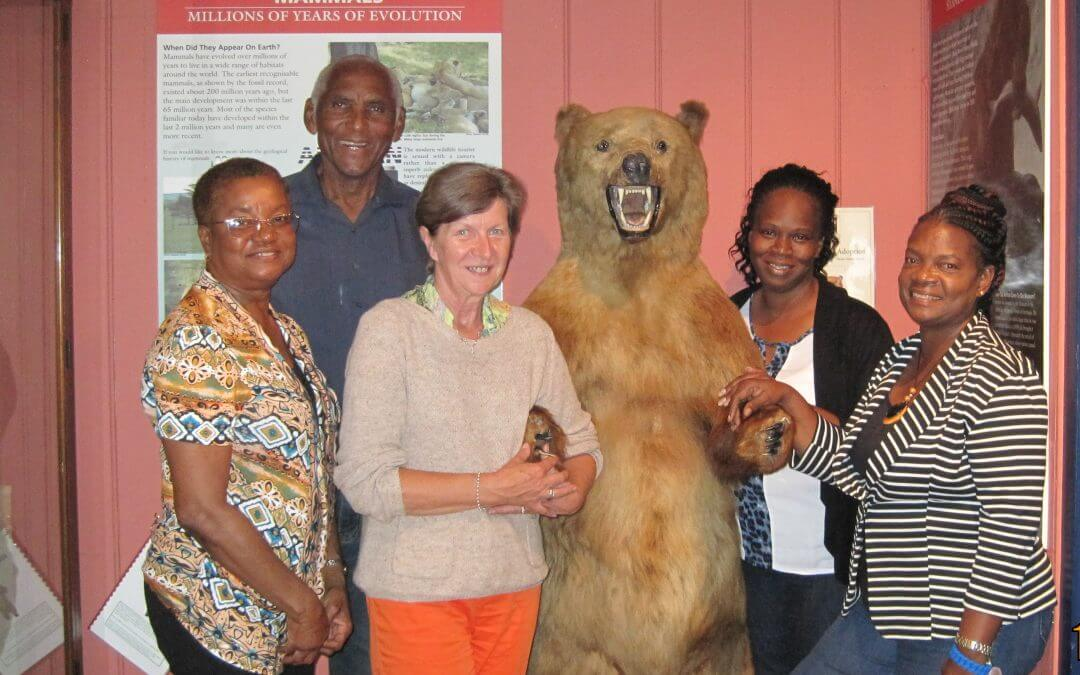 International visitors to Haslemere Museum