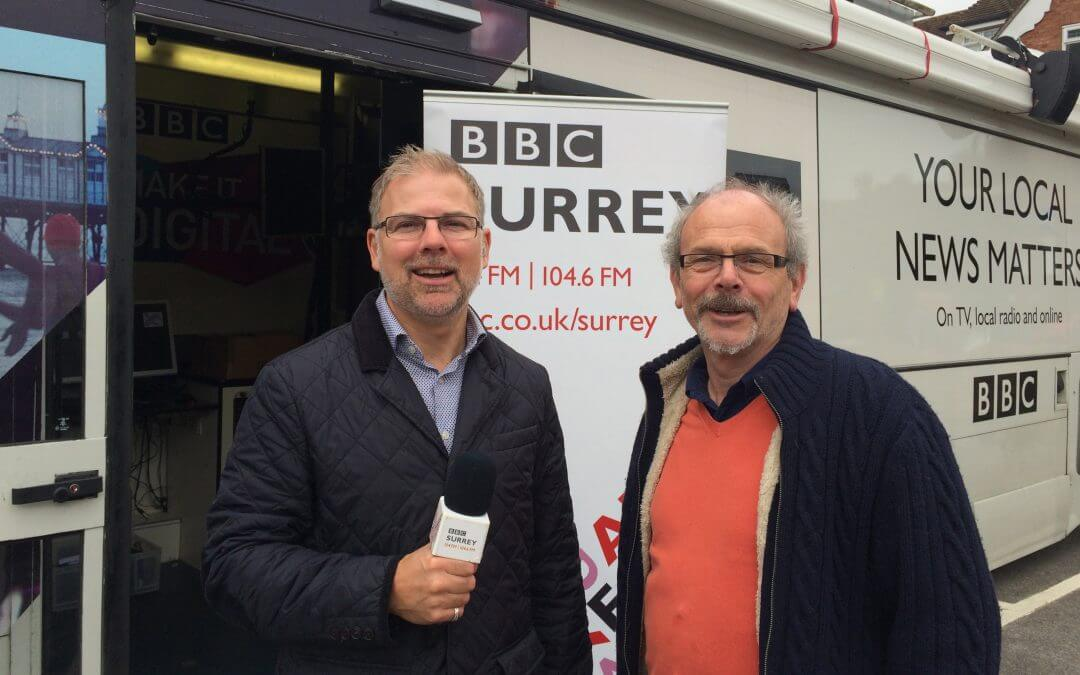 Haslemere businesses get an airing on BBC local radio