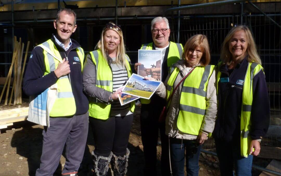 Haslemere Travel raises funds for Surrey Wildlife