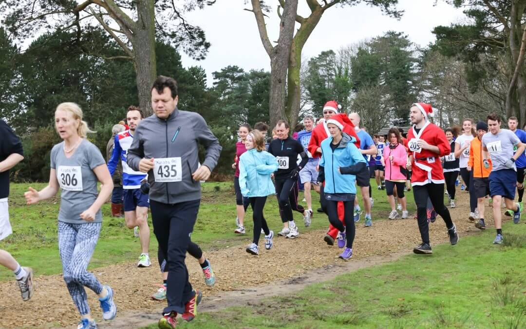 Register for the Hindhead charity Boxing Day Run