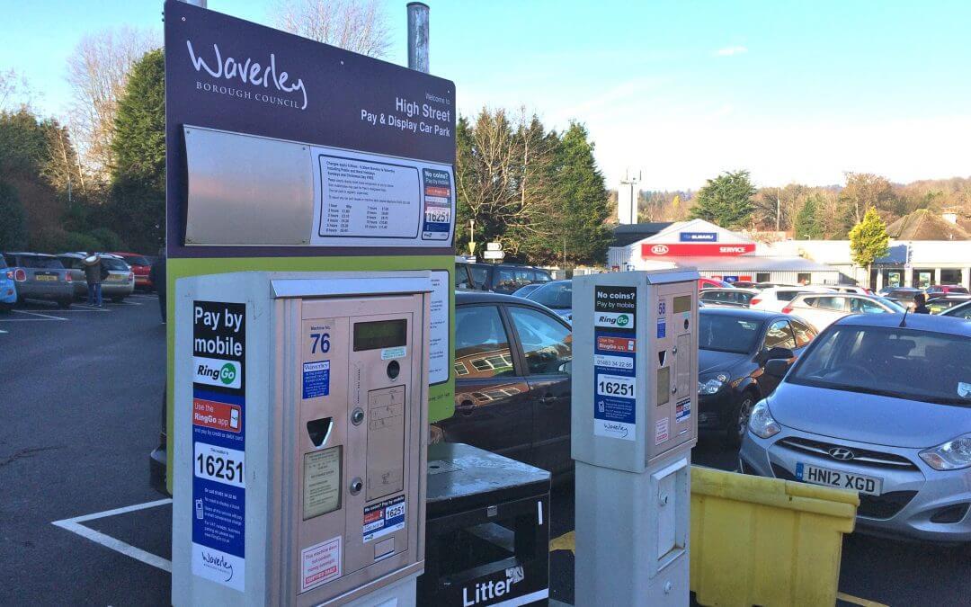 Car park payment machines