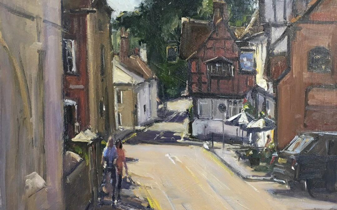 Art in the making – an exhibition at Haslemere Museum