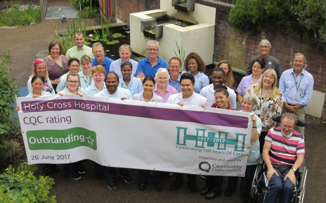 Inspectors rate Holy Cross Hospital 'outstanding'