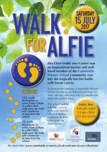 Walk for Alfie Poster