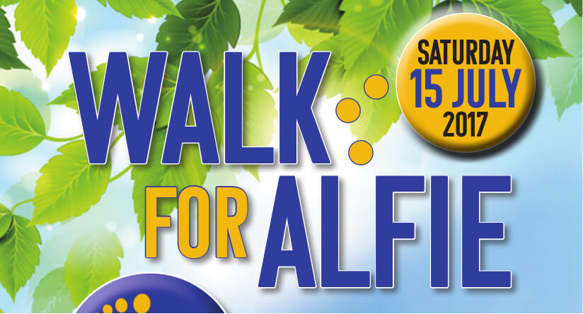 'Walk for Alfie' and help to develop an educational trust