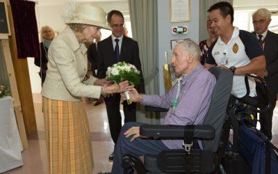 HRH Princess Alexandra opens education centre