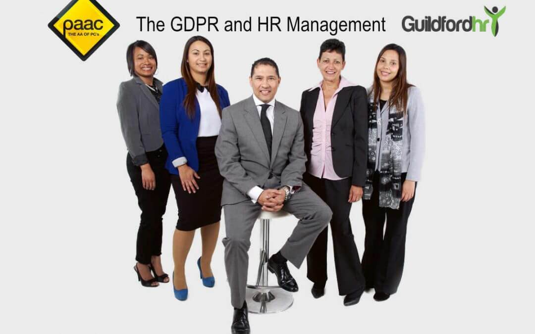 GDPR and human resources management