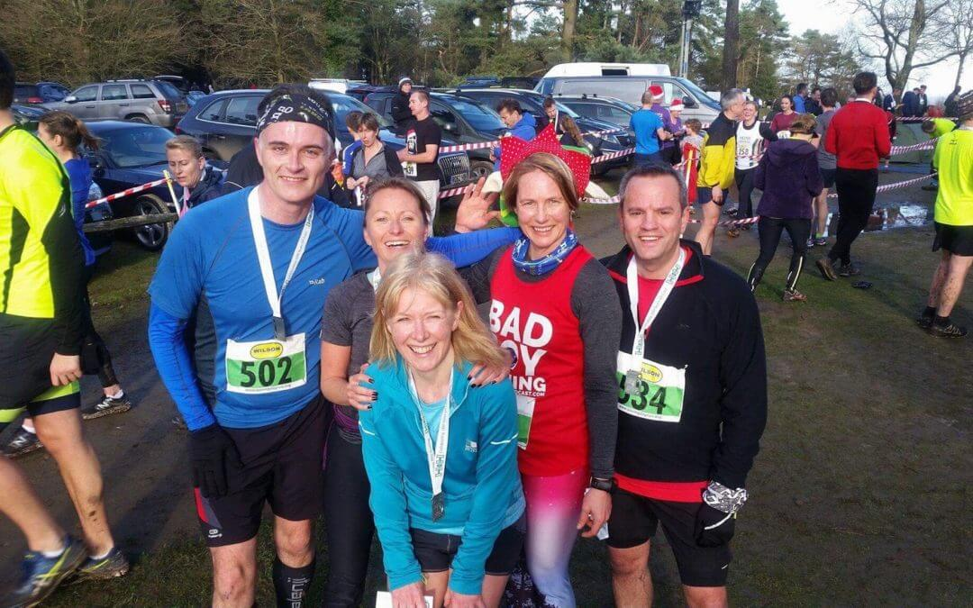 Boxing Day runners raise money for Holy Cross