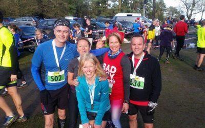 Boxing Day runners raise money for Holy Cross
