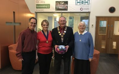 Mayor shares his hopes for 2018 over Christmas lunch
