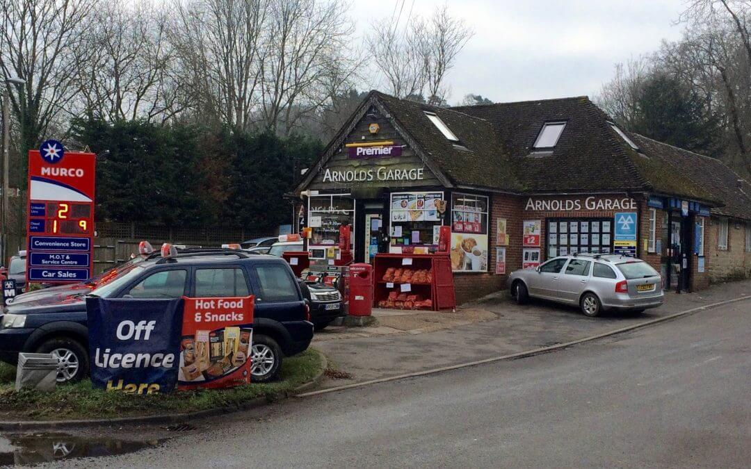 Post Office opens this week at Arnolds Garage