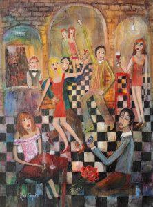 'It must be love, love, love' 38x52cms-Rosa Sepple PRI