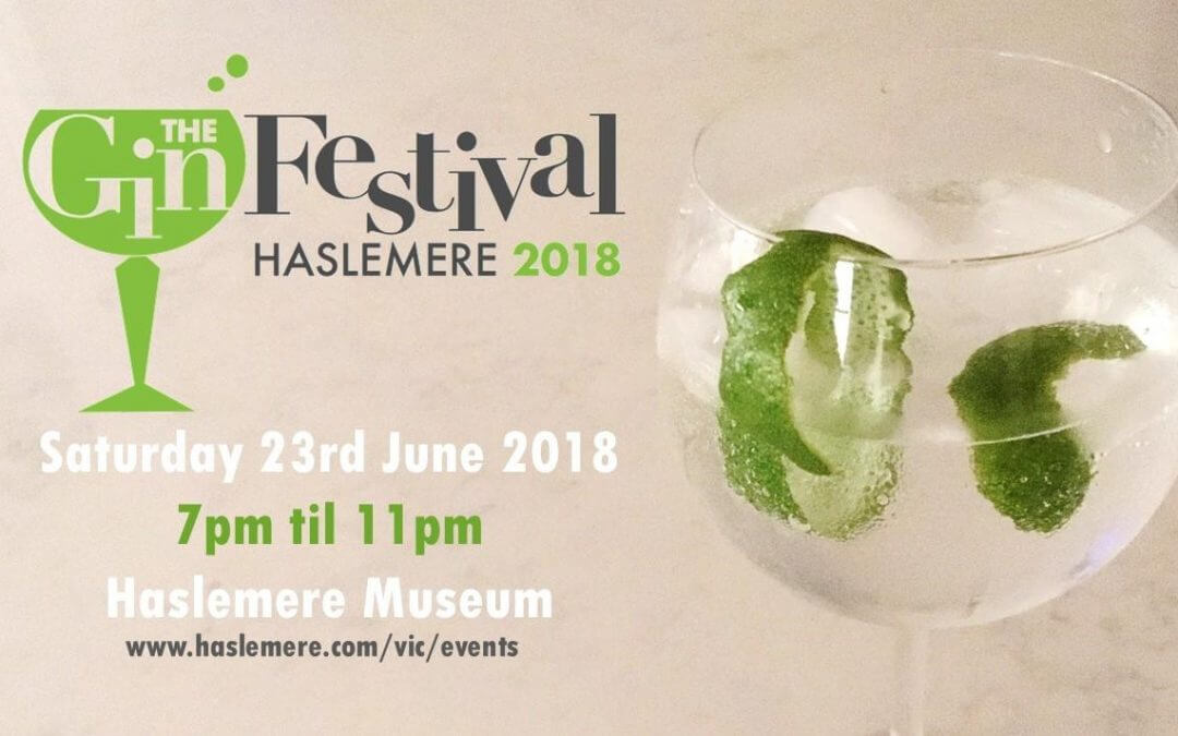 Gin Festival date for June in Haslemere