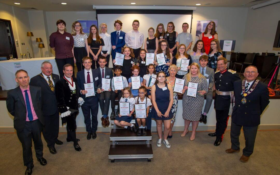 Surrey Young Superstars awards 2018 winners