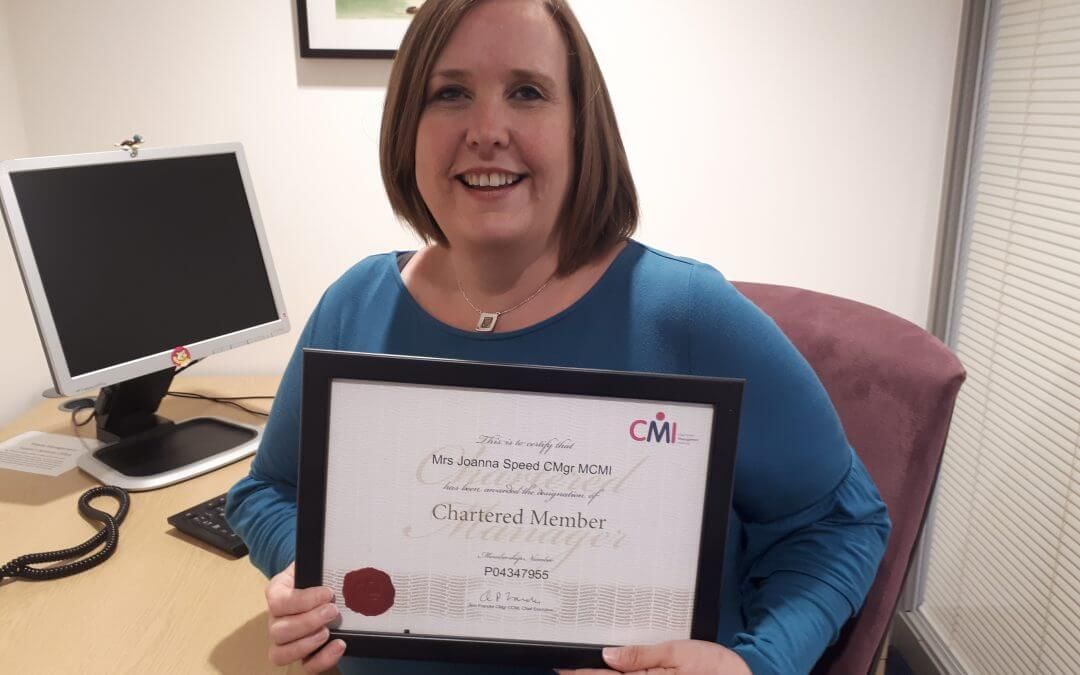 Chartered status for Hospital's general manager