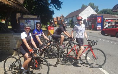 Treehouse fundraisers get on their bikes!