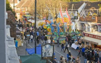 A Day of Christmas Cheer at Haslemere Christmas Market, 2018