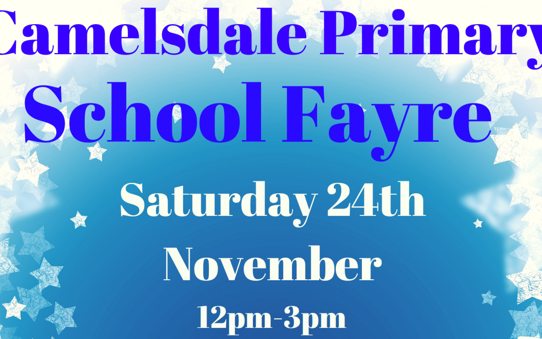 Camelsdale Primary School Christmas Fayre