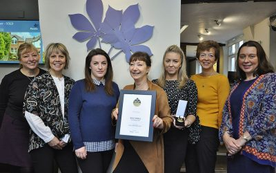 Keats Haslemere Lettings Team Scoop Prestigious Award