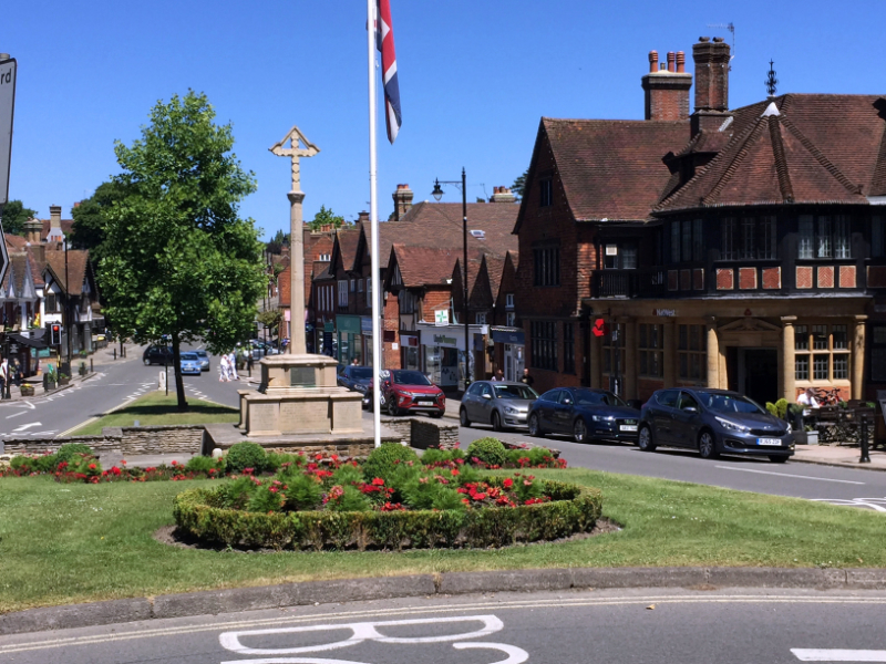 An image of Haslemere Town Centre
