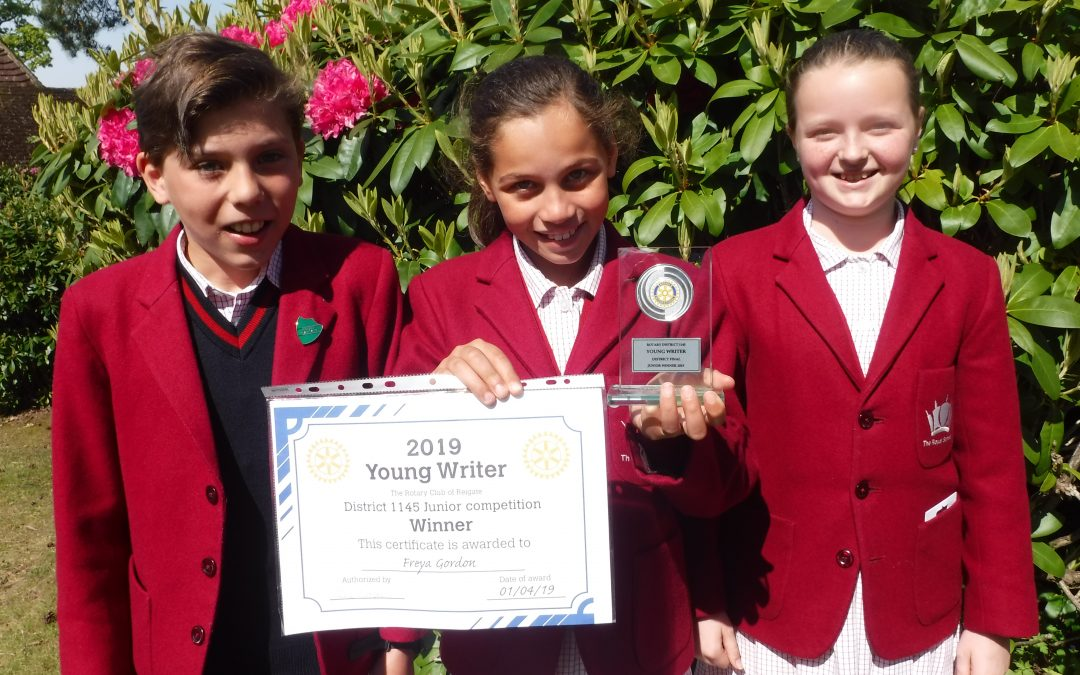 Rotary 'Young Writer' Winners