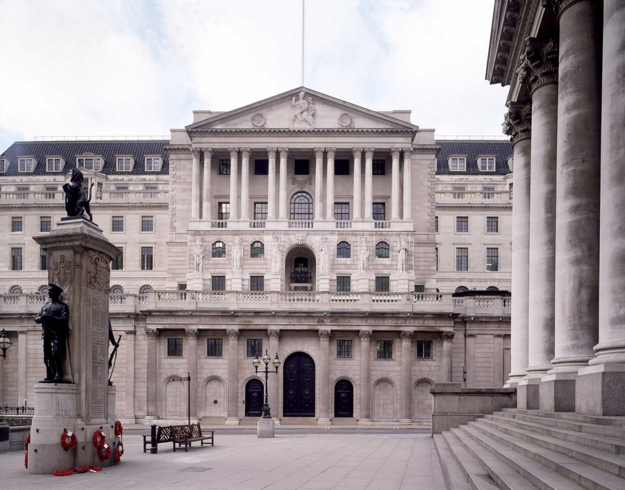 Picture of the Bank of England Building