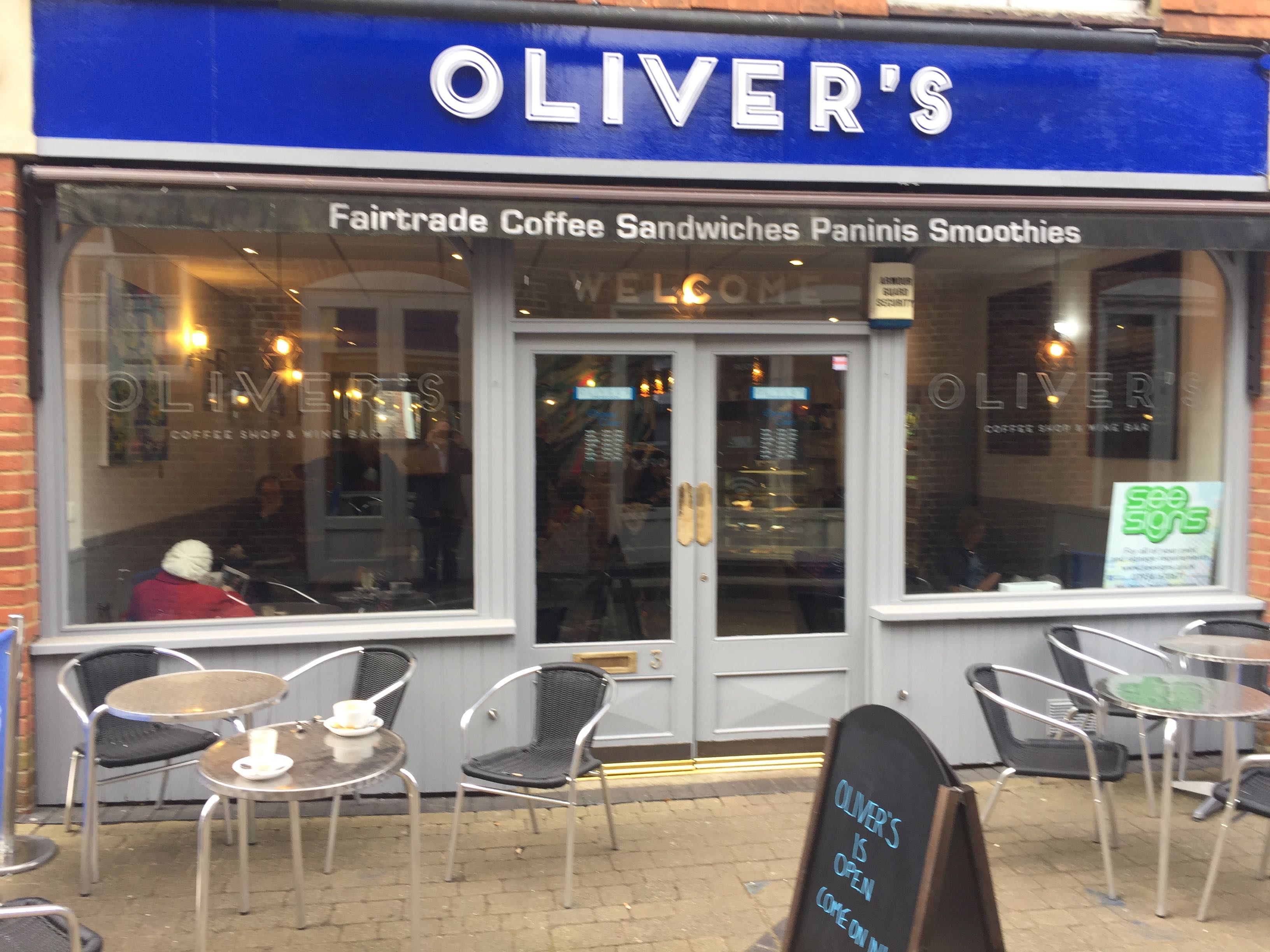 Oliver's Coffee Shop and Wine Bar