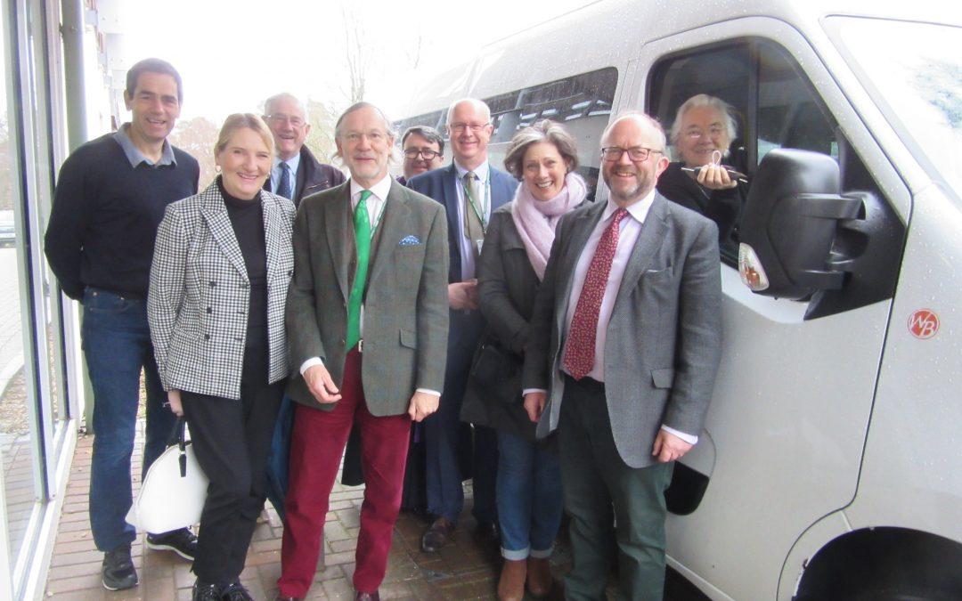 Friends of Holy Cross donate new ambulance