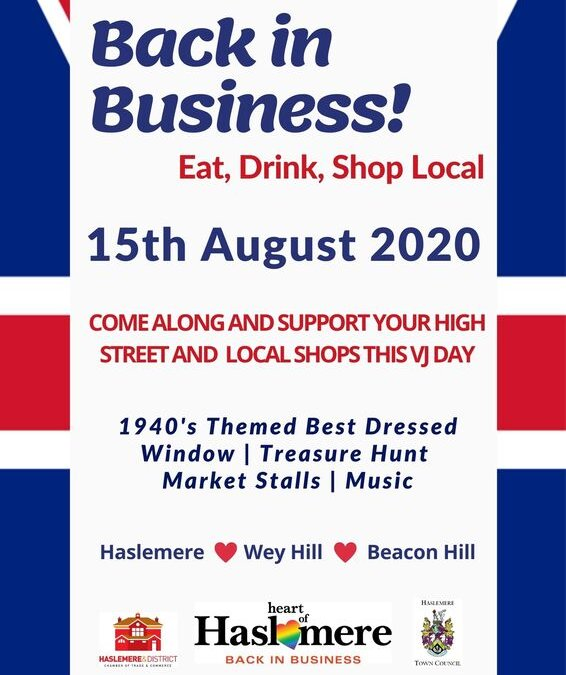 Show that you're 'Back in Business' on 15th August