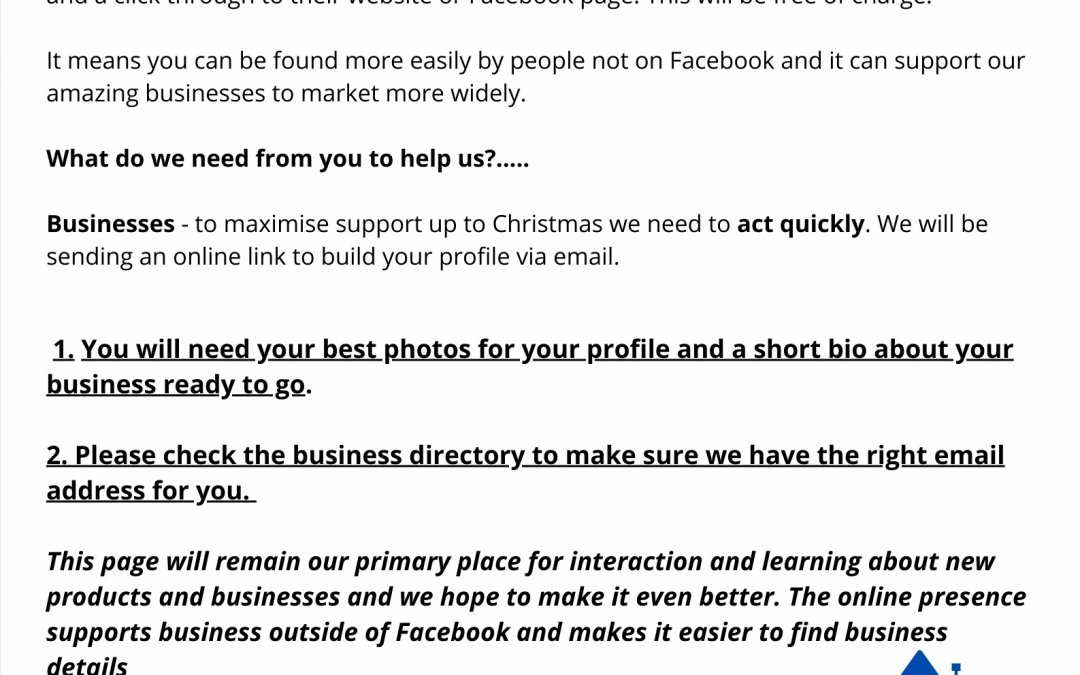 Haslemere Virtual High Street – get your business involved!