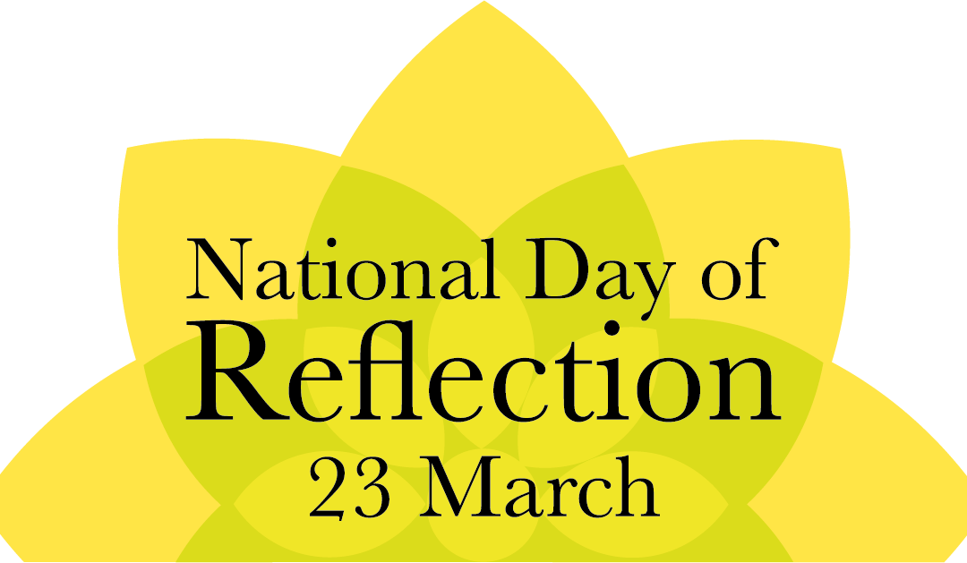 Chamber supports National Day of Reflection – 23rd March 2021