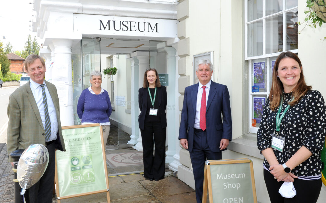 Museum reopening celebrated with the Lord Lieutenant of Surrey