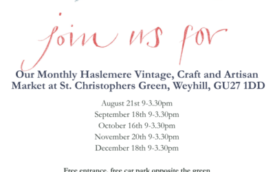 Book your stall at the new art, craft and brocante fair on Saturday 21st August